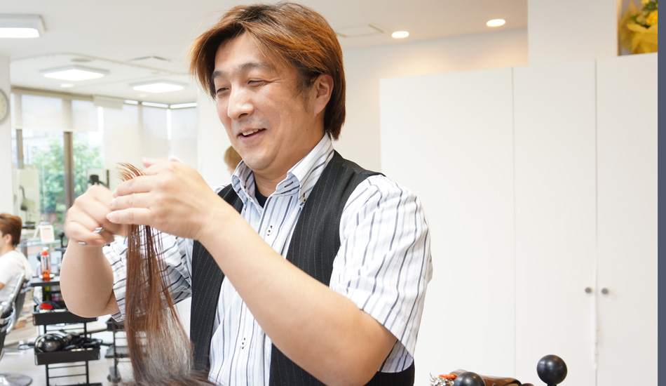 美容室CURL PIA morimoto 西大島店