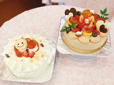 女性パティシエが作るホールケーキ「かわいい」と人気!
