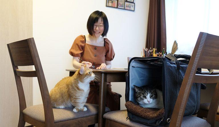 猫のいる猫の絵教室 ATELIER cats